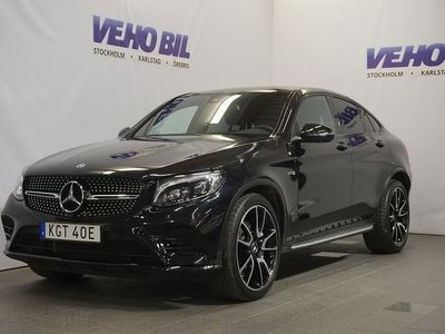 begagnad Mercedes GLC43 AMG AMGCoupé 4-Matic AMG 360-Kamera Värmare Drag ILS
