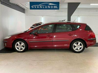 begagnad Peugeot 407 SW 2.2 Automat 158hk/Ny-serv