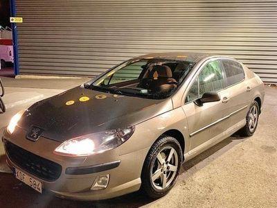 begagnad Peugeot 407 2.0 06 manuell bes/skattad.