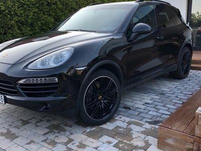 begagnad Porsche Cayenne Diesel TipTronic