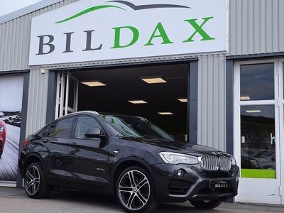 begagnad BMW X4 35D 313Hk XDRIVE SKINN BACKKAMERA DRAG -15