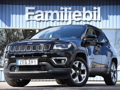 begagnad Jeep Compass 2.0 Multijet 4WD (170hk) *Söndagsöppet* Nybils-garanti/Auto/Limi