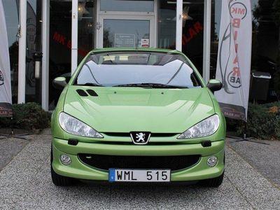 begagnad Peugeot 206 CC 1.6 109hk / Kamrem +Vp Bytt
