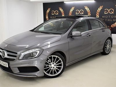begagnad Mercedes A250 4MATIC 1ÄGARE PANO EURO -14