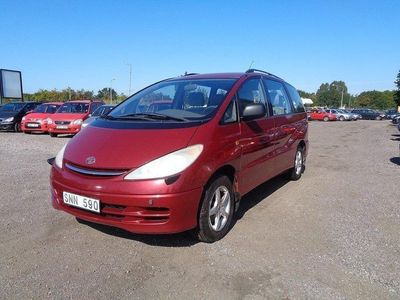 begagnad Toyota Previa 2.4 7-sits 156hk*ANS.0 KONTA -00