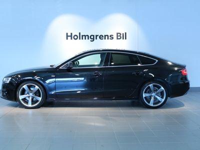 "brugt Audi A5 Sportback 2.0 TDI 190hk, S-Line, 19"" Sports"