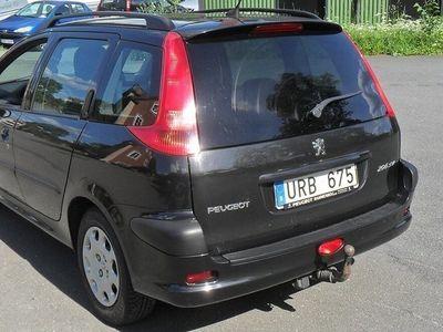 begagnad Peugeot 206 SW 1.4 X-Line 75hk