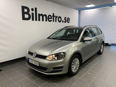 begagnad VW Golf Sportscombi TDI 110hk 4-Motion