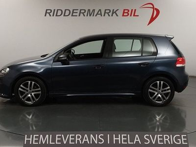 begagnad VW Golf VI 1.6 TDI BlueMotion Technology 5dr (105hk) Design, Comfort