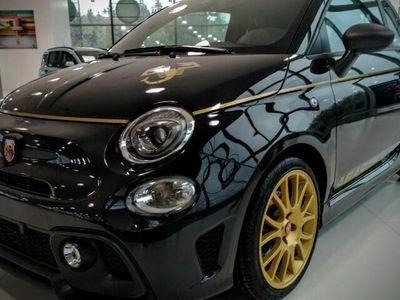 begagnad Fiat 500 Abarth SCORPIONEORO 1.4 TURBO 165HK 1 / 2000 XENON