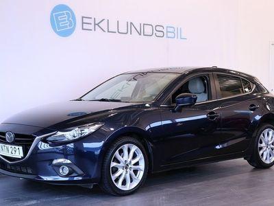 begagnad Mazda 3 2.2 Optimum Navi Off-white (150hk)