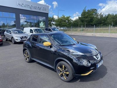 """begagnad Nissan Juke 1.6L 117 CVT N-Connecta Color Pack Yellow 18"""" Part Leather"""