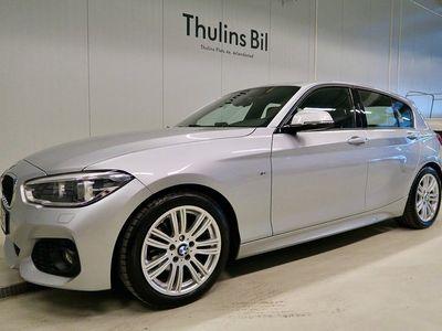 begagnad BMW 116 d M-Sport / Drag