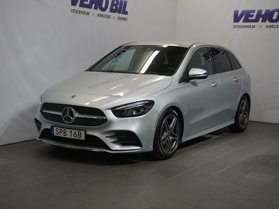 begagnad Mercedes B200 AMG Backkamera Aut Nav AppleCarplay