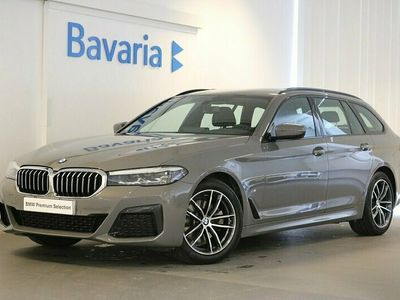 begagnad BMW 520 d xDrive Touring M sport Winter Drag HiFi