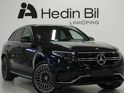 begagnad Mercedes EQC AMG-Line Taklucka Burmester Drag 408hk