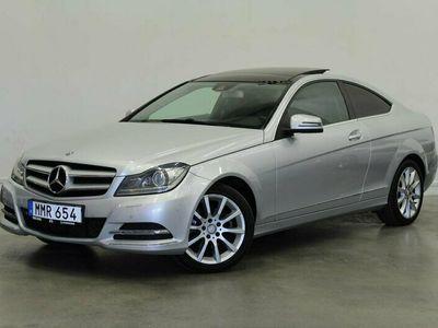 begagnad Mercedes C220 C BenzCDI Coupé 7G-Tronic Plus 2014, Sportkupé Pris 149 900 kr