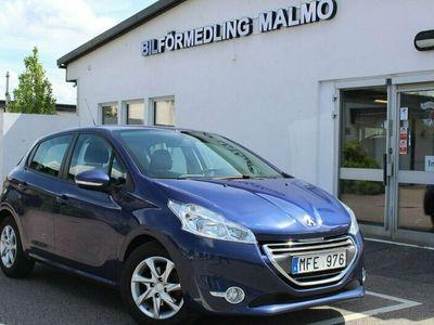 begagnad Peugeot 208 5-dörrar 1.4 * 7700 Mil Kamkedja FULLSERVAD GPS
