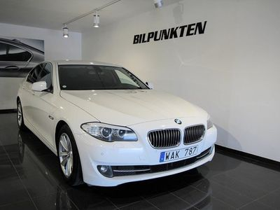 begagnad BMW 520 d Sedan Steptronic 184hk Svensksåld