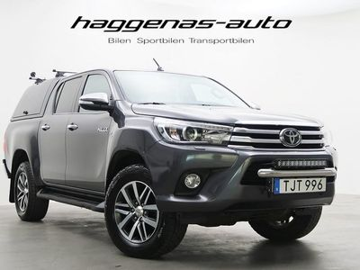 begagnad Toyota HiLux 2.4 AWD / Automatisk / 150hk