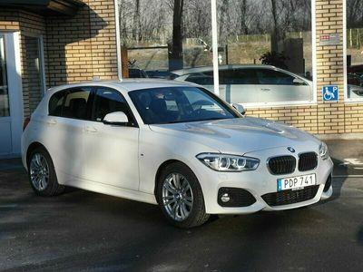 begagnad BMW 118 d xDrive 5-door M Sport (150hk) V-hjul & dragkrok