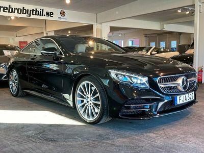 begagnad Mercedes S450 4M Coupé AMG Plus Exclusiv Gps 367hk