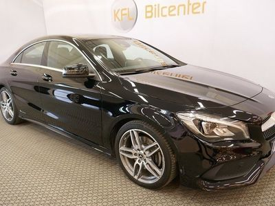begagnad Mercedes CLA220 d 7G-DCT Automat-Panorama-AMG Euro 6 177hk