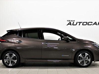 begagnad Nissan Leaf N-connecta e+ 62 kWh inkl Service & V-hjul