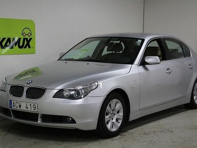 begagnad BMW 525 dA Aut Bluetooth Drag Fullservad Elstol