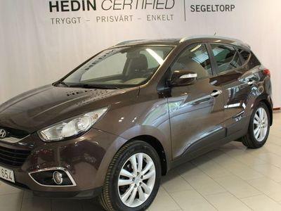 begagnad Hyundai ix35 2.0 4WD 163hk S+V-Hjul