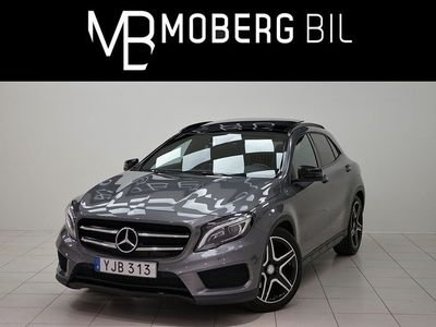 begagnad Mercedes GLA220 d 4M AMG H/K Panorama