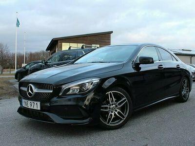 begagnad Mercedes 200 CLA Benzd AMG Sport Sky Panorama Kamera Premium SE 2018, Sportkupé Pris 284 900 kr