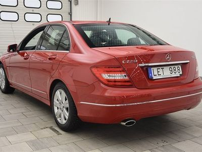 begagnad Mercedes C220 Avantgarde BenzCDI AVANTGARDE 2013, Sedan 189 900 kr