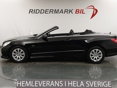 begagnad Mercedes E250 E BenzCabriolet AMG Sport 2 Brukare Navi 2012, Cab 244 800 kr