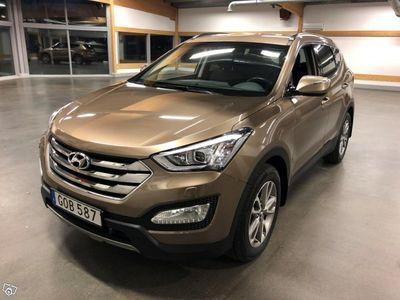 brugt Hyundai Santa Fe 2.2 CRDi 4WD 197hk Business -13