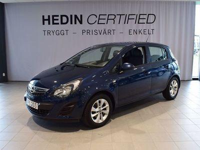 begagnad Opel Corsa 5-dörrar 1.2 85hk Active Drag Motorvärmare