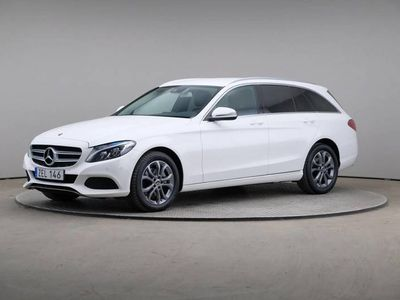 begagnad Mercedes C220 C-KlasseD 4matic T SE Edition