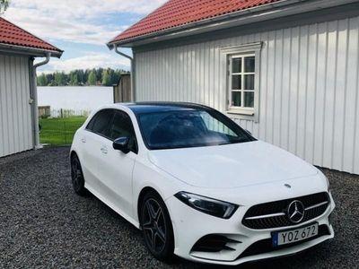 begagnad Mercedes A180 d AMG Sport