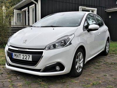 used Peugeot 208 5-dörrar 1.6 BlueHDi Euro 6 99hk Svensksåld