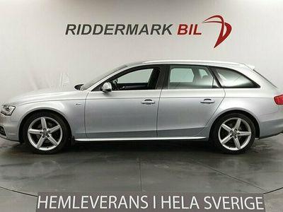 begagnad Audi A4 2.0 TDI Euro6 Quattro S-line Psensor Drag Välservad