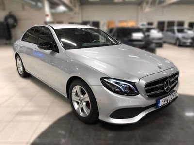 gebraucht Mercedes 220 E-KLASS4MATIC 194hk, Sedan, Premium-, Vinterpaket, Drag
