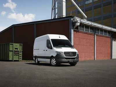 begagnad Mercedes Sprinter 314 CDI SKÅP 10,5 Kubik / Nya modellen