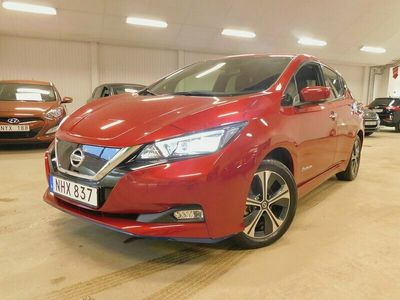 begagnad Nissan Leaf e+ 62 kWh 217hk 3.ZERO