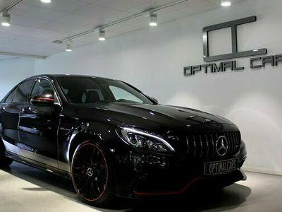 begagnad Mercedes C63S AMG C BenzAMG Sedan EDITION-1 2016, Personbil Pris 629 900 kr