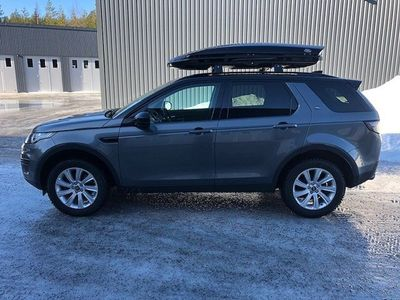 begagnad Land Rover Discovery Sport 2.0 TD4 4WD Automat Euro 6 180hk