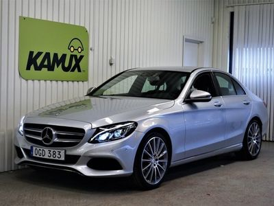 begagnad Mercedes C220 d W205 (170hk) Premiumpaket Drag Backkamera