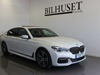 begagnad BMW 740 d xDrive M Sport Lyx utrustad 2017, Sedan 549 900 kr