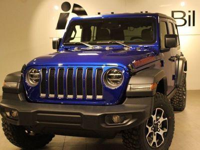 begagnad Jeep Wrangler 2.0 TURBO 272HK 8steg aut 4WD Unlimited RUBICON