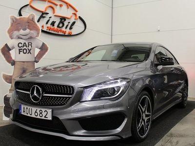 begagnad Mercedes CLA250 7G-DCT AMG Sport Euro 6 211hk,Toppskick