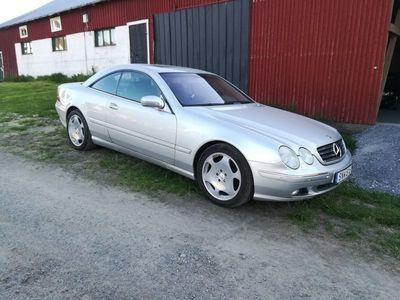 begagnad Mercedes CL500 v8 306hk svensksåld